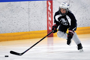 We Teach Breakaway Speed with the Puck at Every Program!