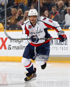 Ovechkin getting up on the inside edge of his toe!