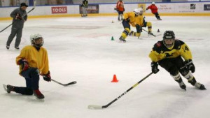 At our Camps: Innovative Drills, Easy to Understand Techniques & Lots of Repetition Equals Explosive Skating!