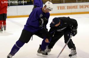 Robby Coaching NHL Superstar Sidney Crosby