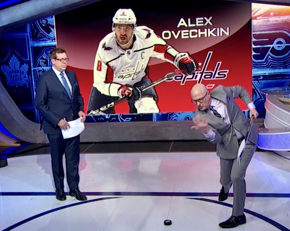 "NHL Now – 3/15/18 – Alexander The Great!… Robby Breaks Down Ovechkin's Shot from ""The Office"""