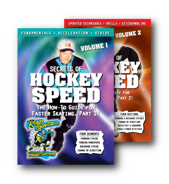 Secrets of Hockey Speed DVDs Volumes 1 and 2